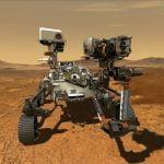 Robot Mars Perseverance