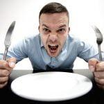 الجوع يغضب