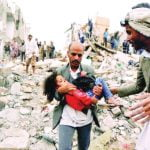 مدنيون ضحايا لقصف التحالف