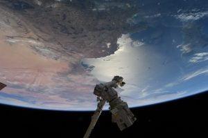 صورة لتونس من الفضاء