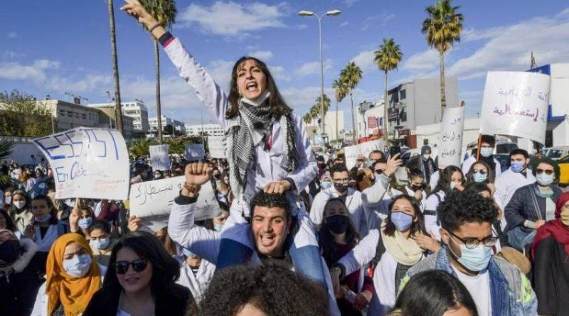 تونس.الأطباء الشبان في إضراب عام وطني يومي 1 و2 مارس