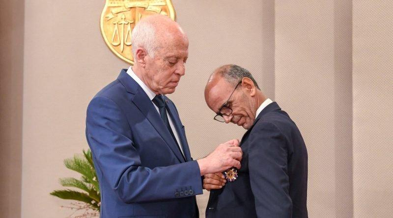 محمد الحامدي وسام الجمهورية
