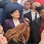 اعتصام الحزب الدستوري الحر أمام مقر اتحاد العلماء المسلمين فرع تونس