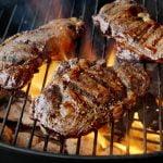 باربكيو شواء اللحم فحم حطب