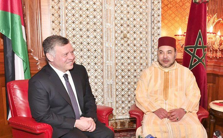 محمد السادس و عبد الله الثاني