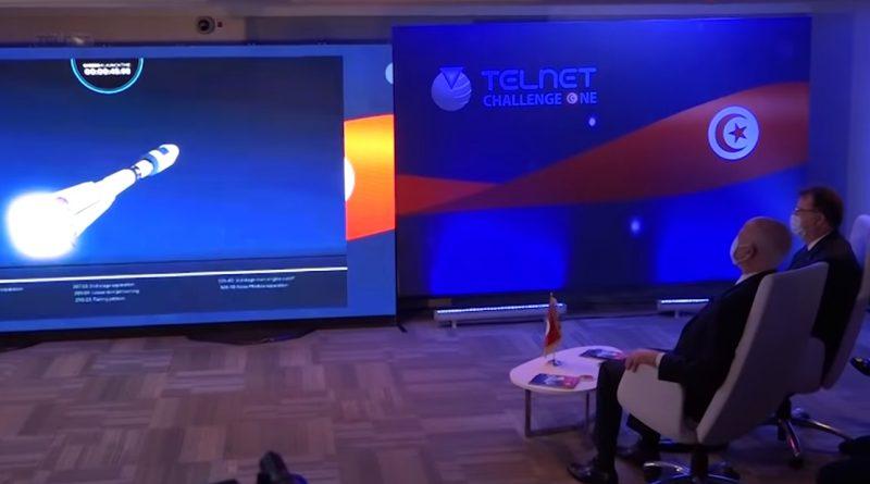 رئيس الجمهورية يواكب إطلاق أول قمر صناعي تونسي