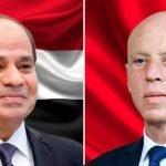 سعيد يؤكد للسيسي تضامن الشعب التونسي مع مصر