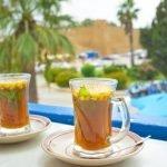 شاي تاي اخضر احمر