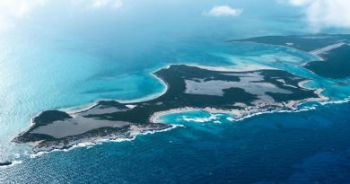 عرض جزيرة راجد الصغيرة في الباهاما للبيع