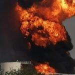 انفجار قوي في مصفاة نفط شرق المكسيك
