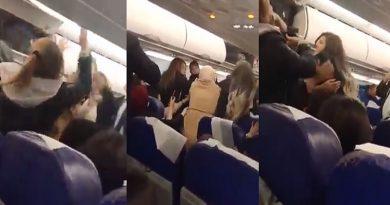 تبادل للعنف وحالة من الفوضى داخل طائرة الخطوط التونسية