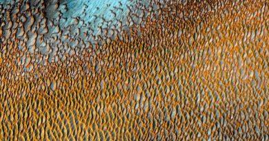 صورة من ناسا تظهر كثبان رملية على المريخ