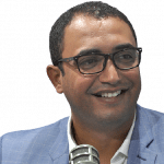 محمد خليل البرعومي عضو المكتب التنفيذي لحركة النهضة