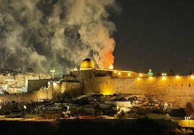 تجدد المواجهات في المسجد الأقصى