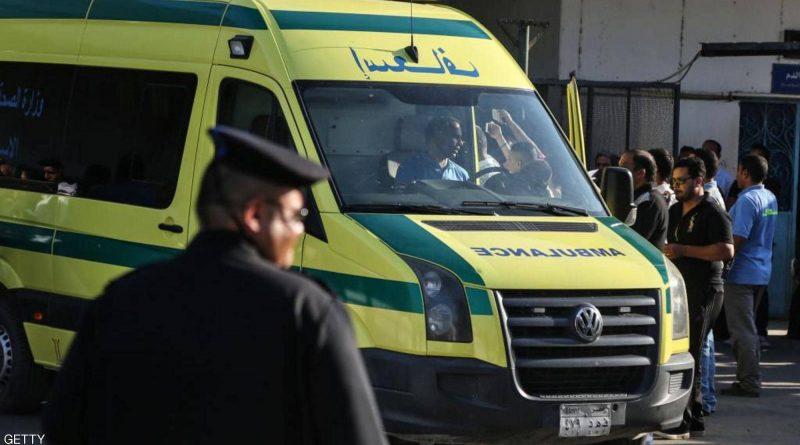 سيارات اسعاف مصر الى غزة لنقل الجرحى