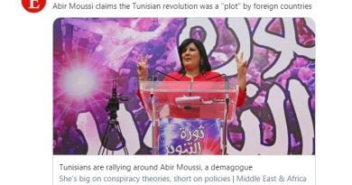 Tunisians are rallying around Abir Moussi, a demagogue