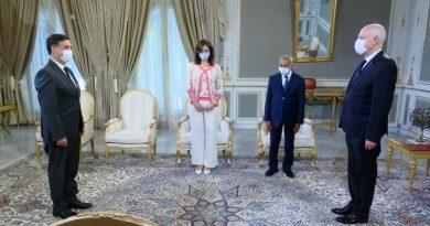لقاء رئيس الجمهورية قيس سعيد مع ممثلين عن الجمعية المهنية التونسية
