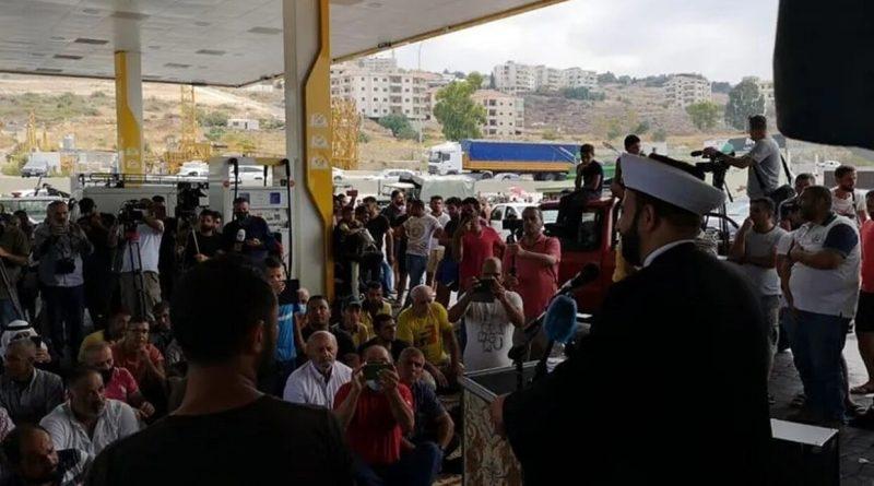 أم أحد المشايخ في لبنان صلاة الجمعة